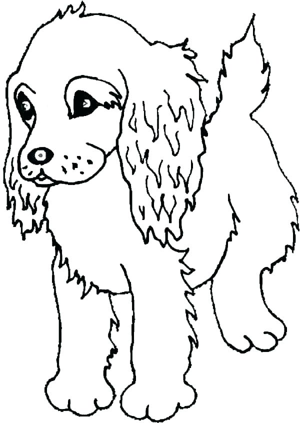 600x846 Printable Dog Coloring Sheets Icontent