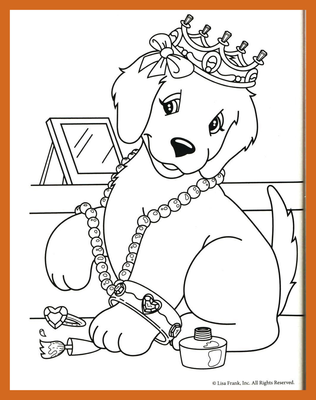 1064x1346 Amazing Coloring Lisa Frank Printable Pages Of Puppies A With Idea