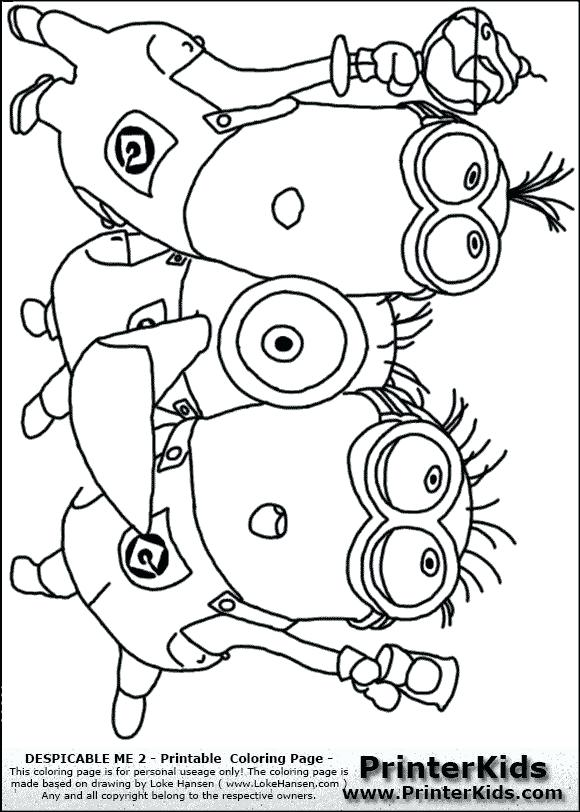 580x812 Displicable Para Colorear Purple Minion Coloring Pages Despicable