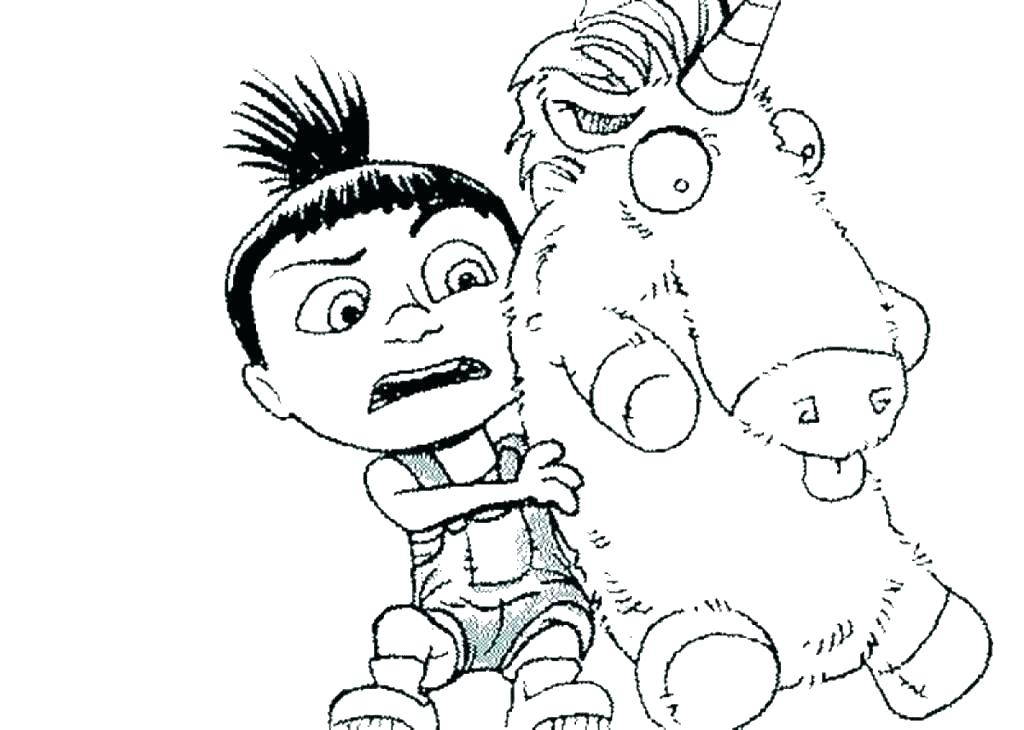 1024x730 Coloring Pages Despicable Me