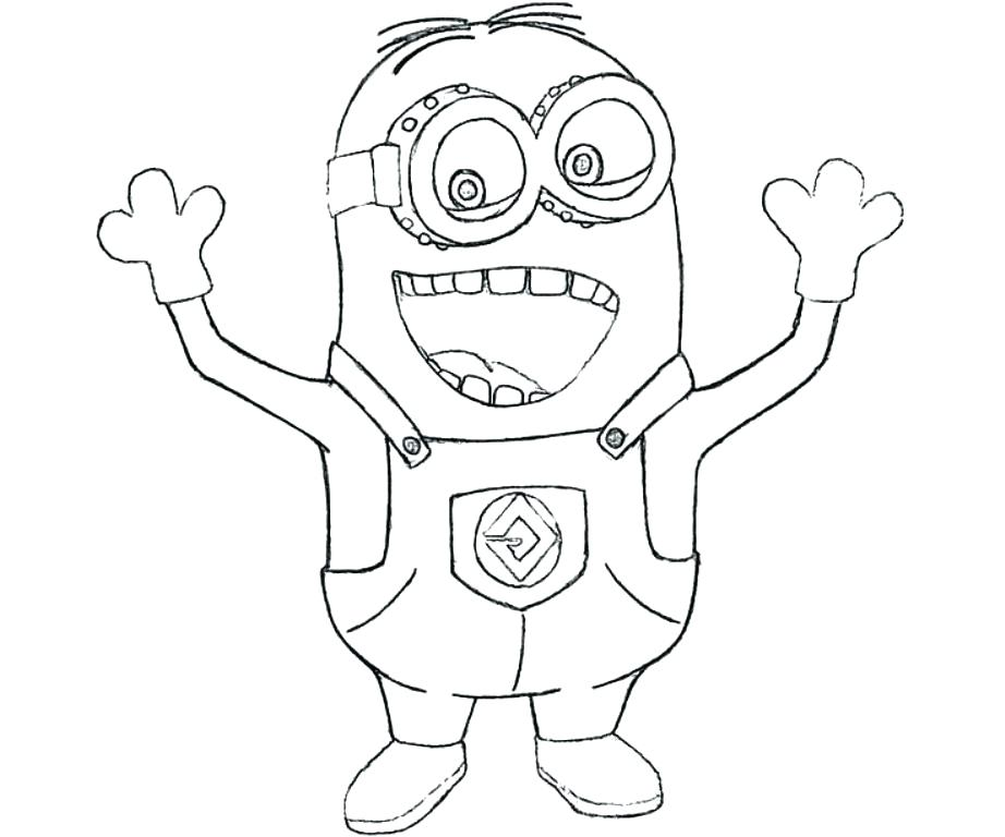 922x768 Despicable Me Purple Minions Coloring Pages Page Printable