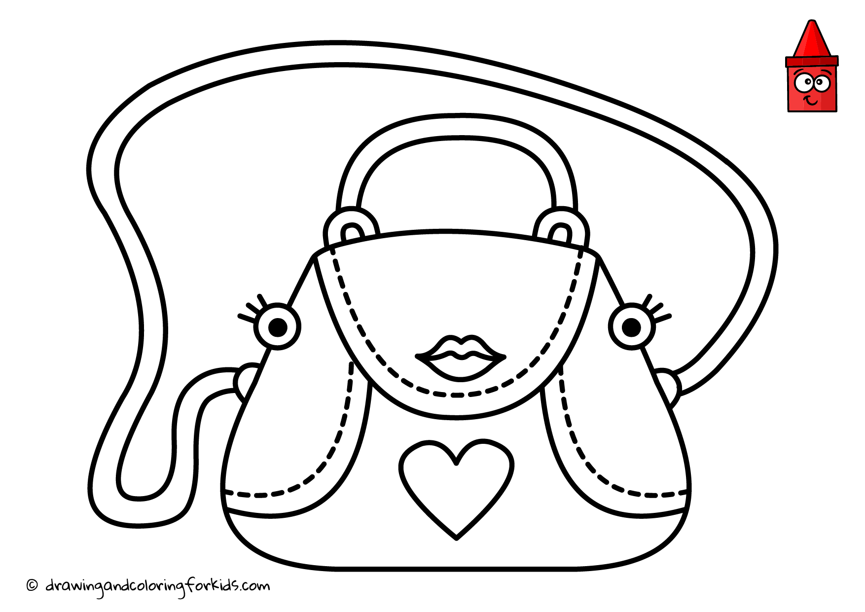 Choosing Purse coloring page | Free Printable Coloring Pages | 1241x1754