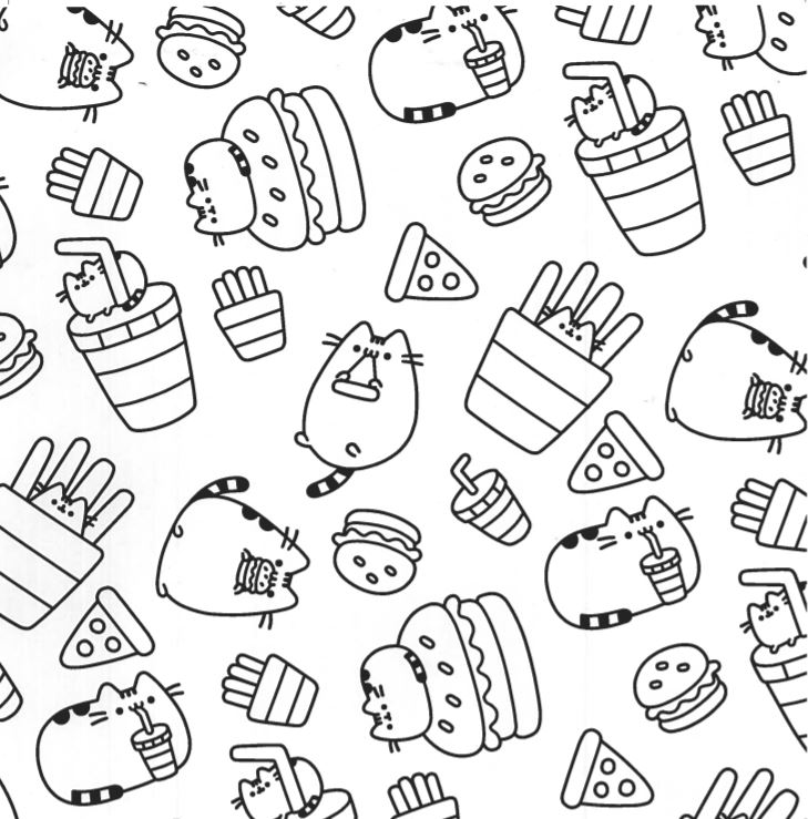 picture relating to Pusheen Coloring Pages Printable known as Pusheen Cat Coloring Internet pages at  Cost-free for