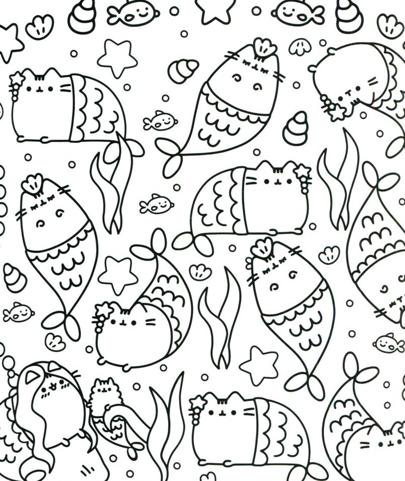 picture regarding Pusheen Printable identified as Pusheen Coloring Web pages Printable at  Free of charge