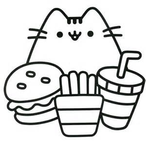 image about Pusheen Coloring Pages Printable named Pusheen Coloring Webpages In the direction of Print at  No cost