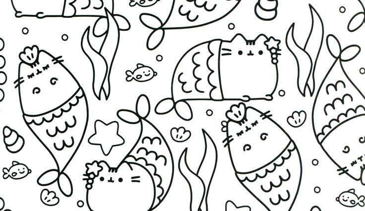 Pusheen Unicorn Coloring Pages at GetDrawings   Free download