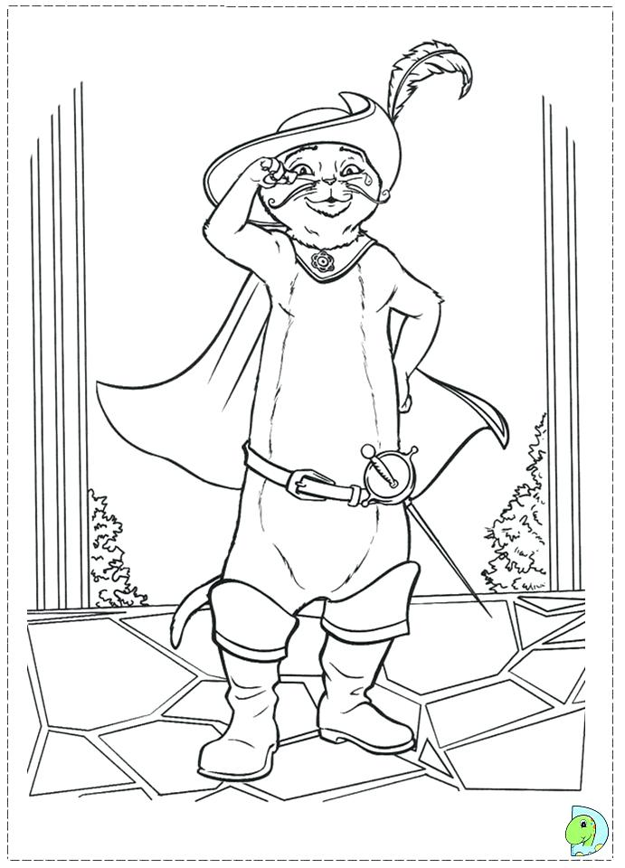 691x960 Puss In Boots Coloring Pages Puss N Boots Coloring Pages