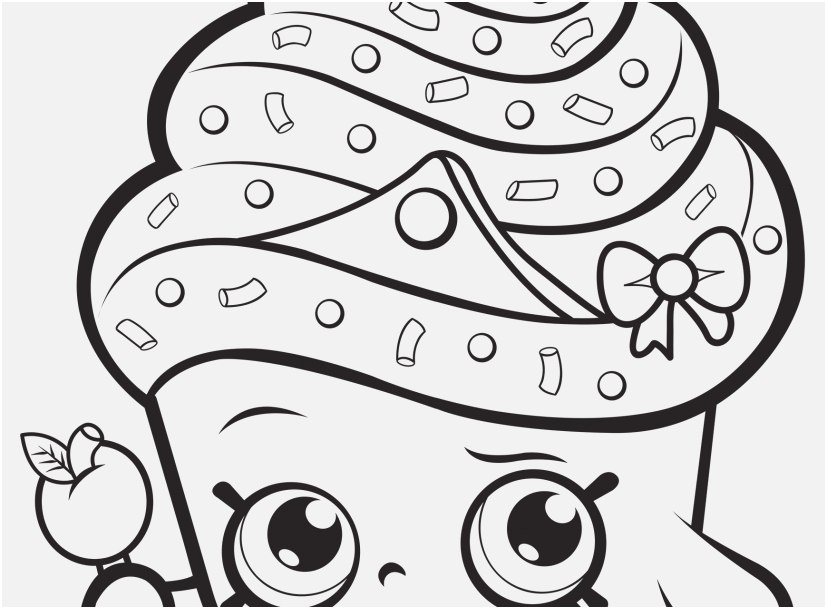 827x609 Puzzle Coloring Pages Design Cupcake Queen Shopkin Coloring Page