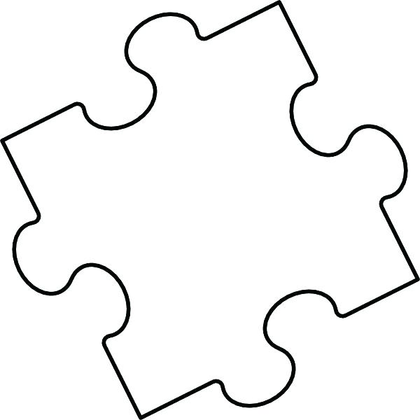 photograph regarding Printable Puzzle Piece named Puzzle Piece Coloring Website page at  Totally free for