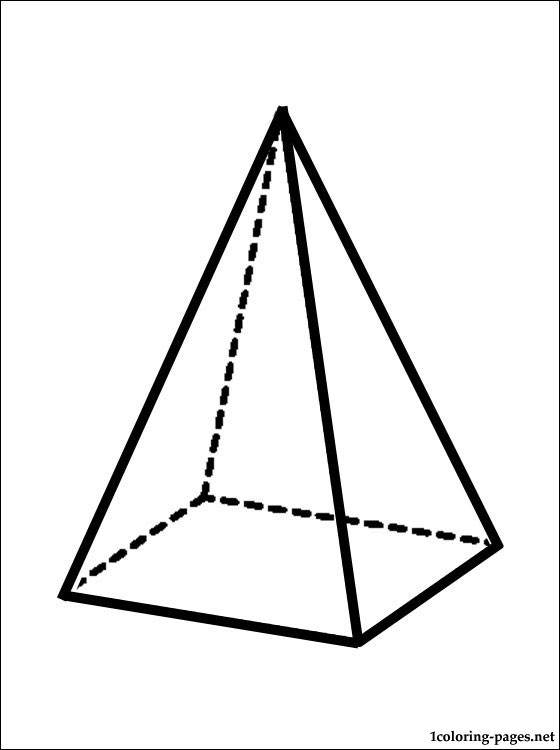 560x750 Pyramid Coloring Page Coloring Pages
