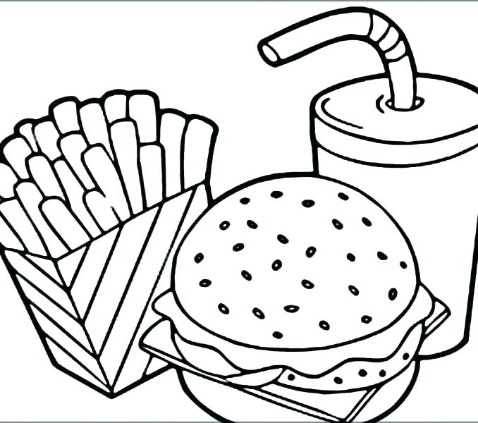 678x600 Food Pyramid Coloring Pages