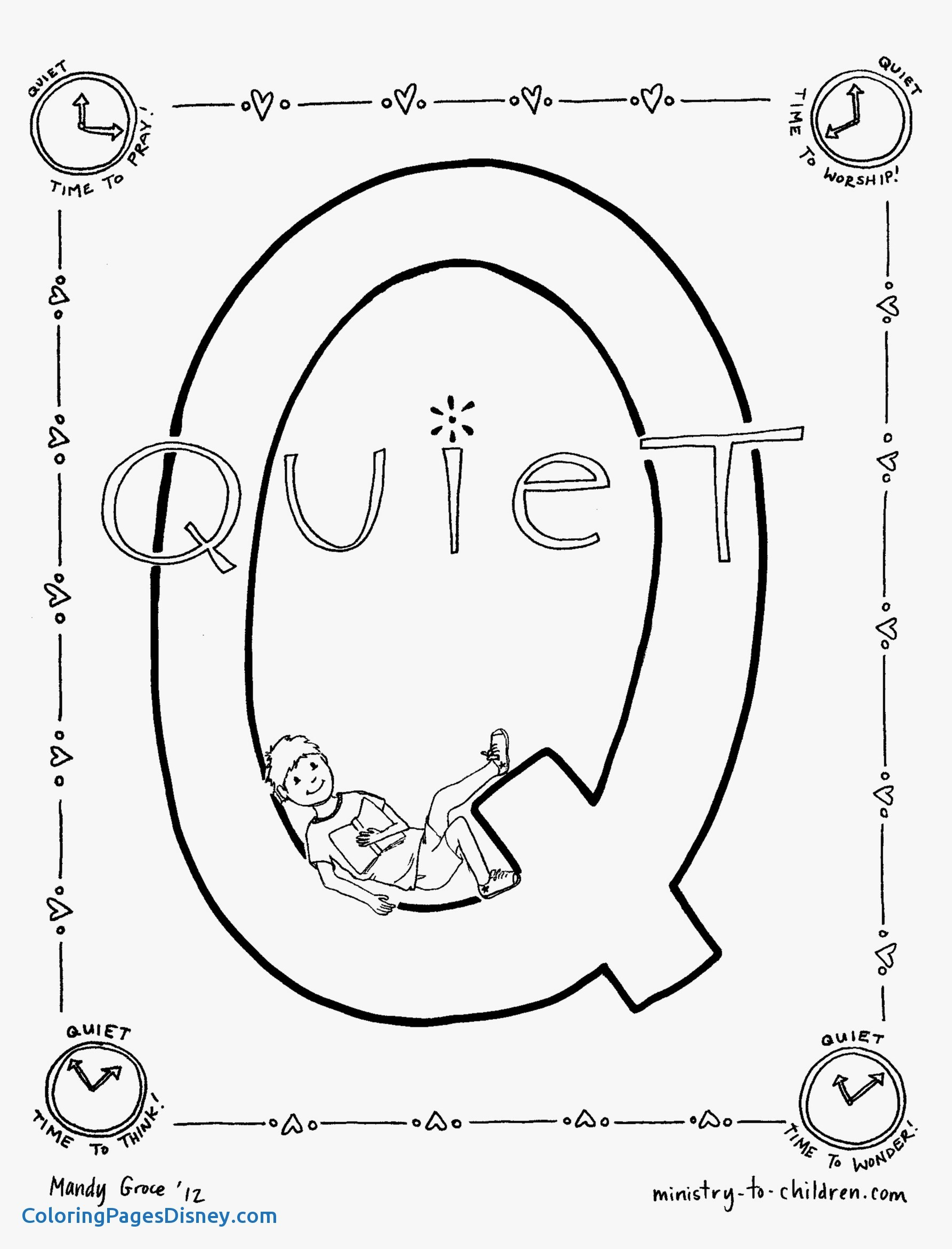 Q Coloring Page At Getdrawings Com Free For Personal Use Q