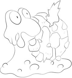 236x258 Click To See Printable Version Of Quagsire Coloring Page Lineart