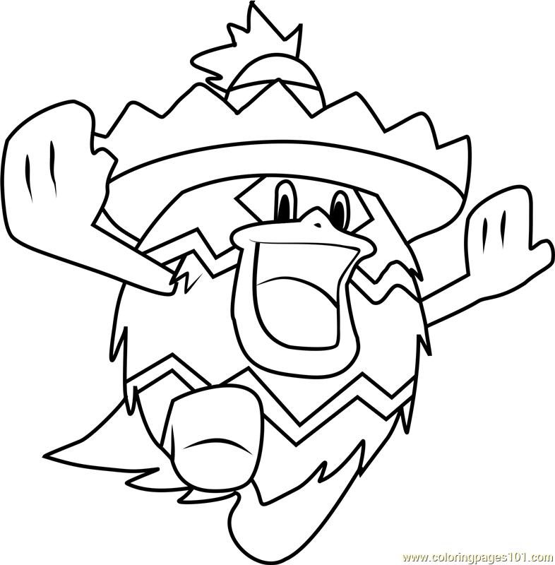 786x800 Ludicolo Pokemon Coloring Page