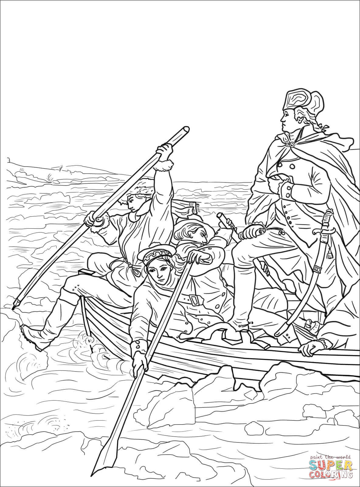 1184x1600 George Washington Coloring Page Preschool Pages Colouring Quarter