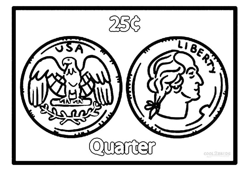 850x587 Marvellous Design Coin Coloring Pages Money Coins Murderthestout