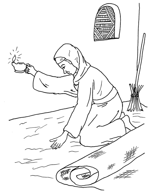 626x800 The Lost Coin Coloring Page