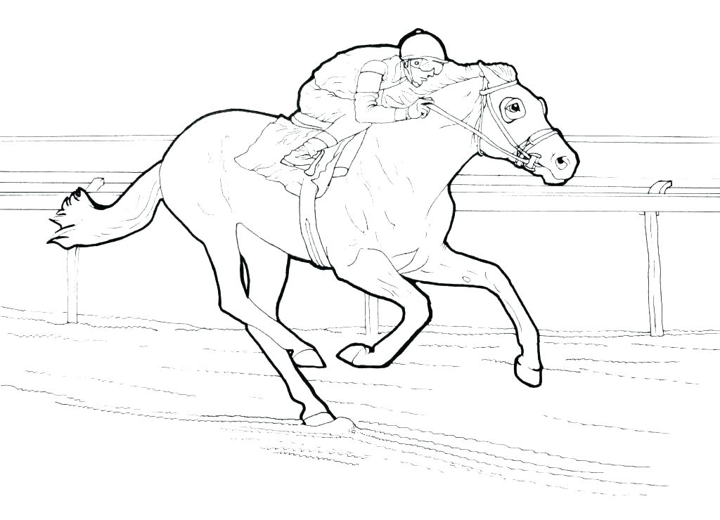1024x740 Free Horse Coloring Pages Horse Coloring Pages Free Horse