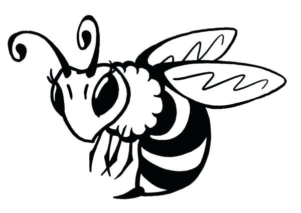 600x425 Bumble Bee Coloring Page Bee Coloring Pages Queen Bee Coloring