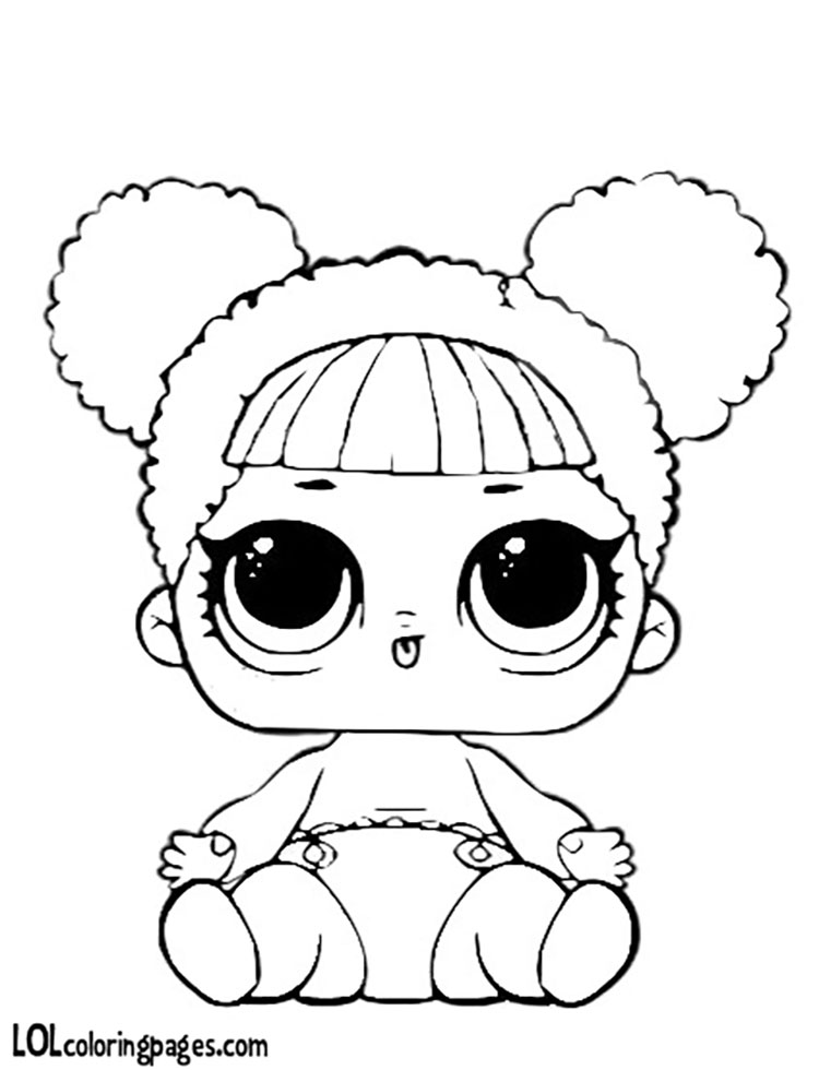 750x980 Lil Queen Bee Coloring Page Lol Surprise Doll Coloring Pages