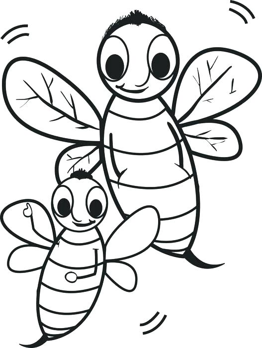 527x700 Bee Coloring Sheet Index Coloring Pages Queen Bee Coloring Pages