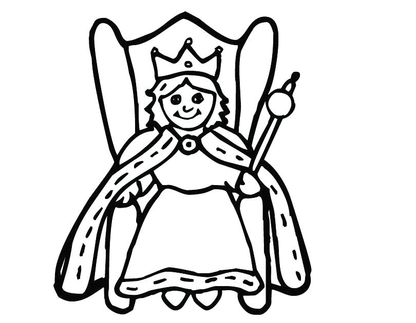 810x630 Queen Chrysalis Coloring Pages Queen Coloring Page Evil Queen