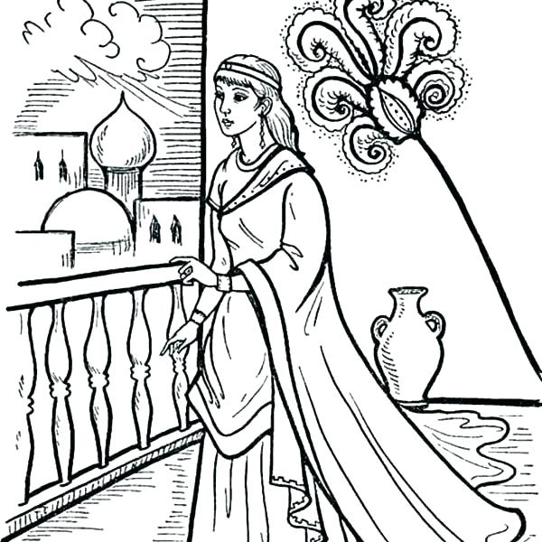 600x600 Queen Esther Coloring Page Queen Coloring Page Queen Coloring
