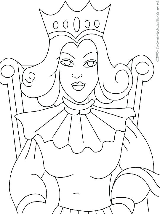 540x720 Queen Esther Coloring Page Queen Coloring Pages Queen Coloring
