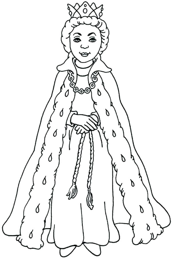 600x933 Queen Esther Coloring Pages For Queen Coloring Pages Queen
