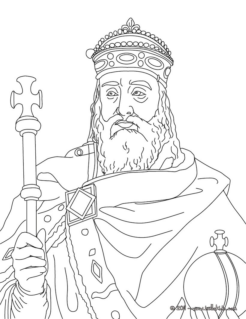820x1060 French Kings And Queens Coloring Pages