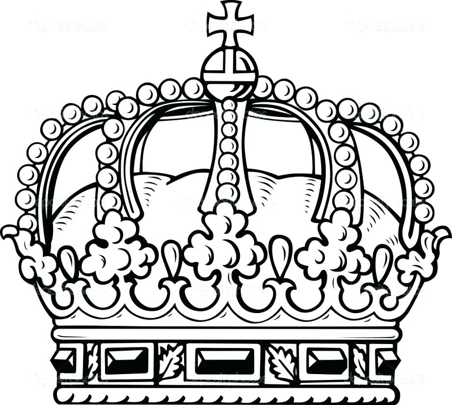 921x824 Crown Coloring Pages Crown Coloring Page King Crown Coloring Page