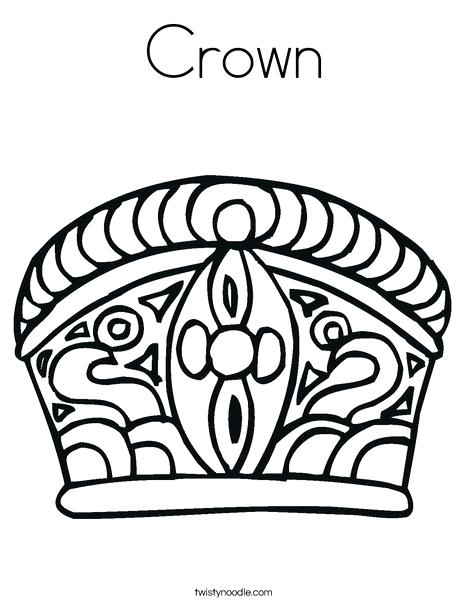 468x605 Crown Coloring Page Crown Coloring Page King And Queen Crown
