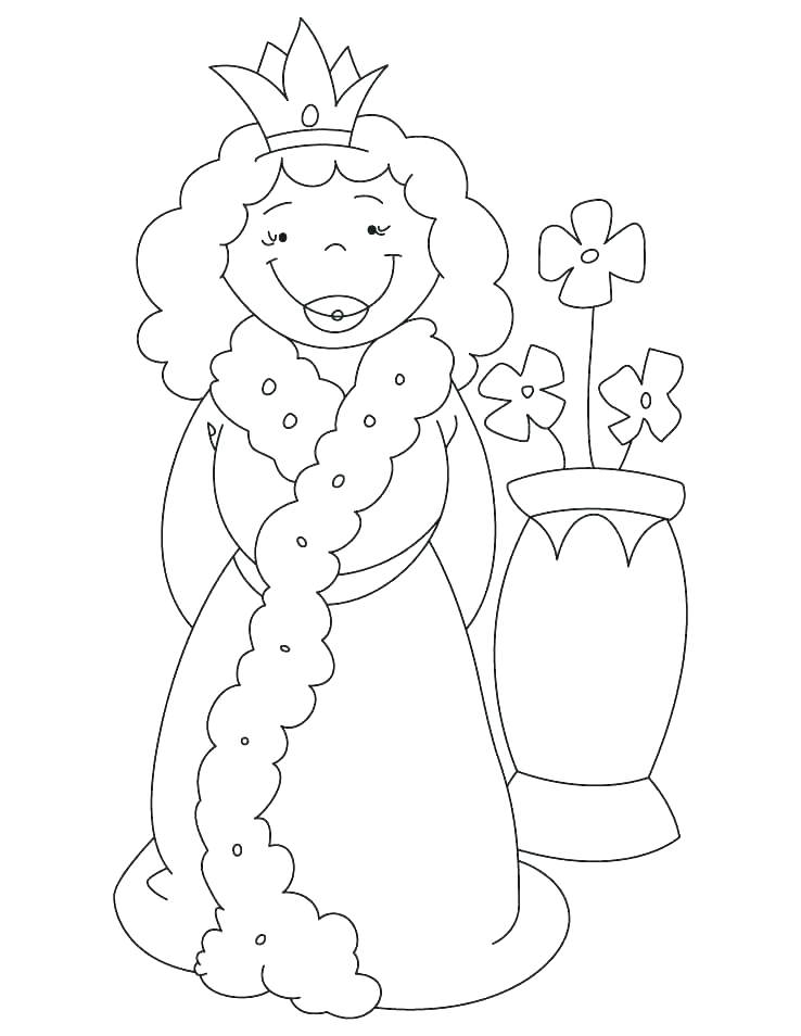 738x954 Queen Coloring Page Queen Diamond Jubilee Coloring Pages Queen