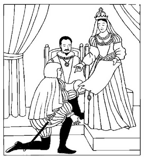 567x625 King And Queen Coloring Pages King And Queen Coloring Sheets Queen