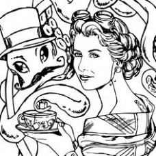 Queen Elizabeth Ii Coloring Pages