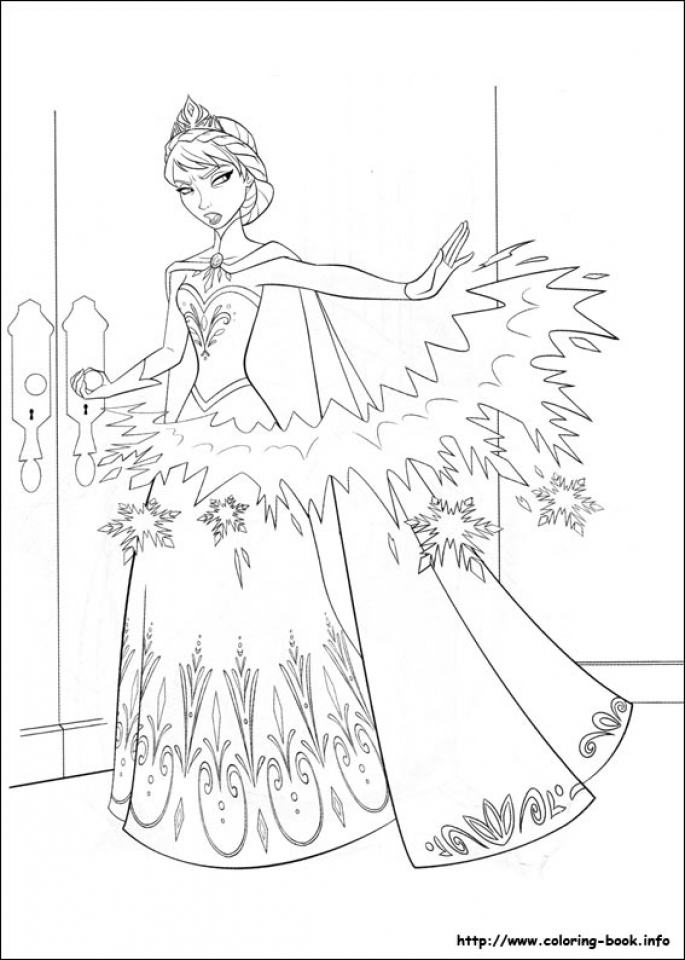685x960 Get This Free Printable Queen Elsa Coloring Pages Disney Frozen