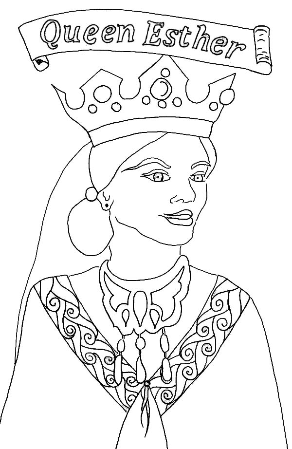600x922 Queen Esther Bible Story Queen Esther Picture Of Queen Esther