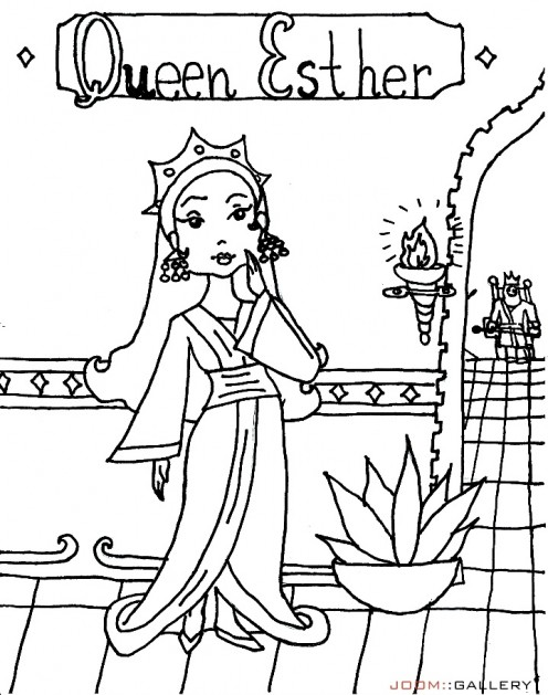 Queen Esther Coloring Pages at GetDrawings.com | Free for ...