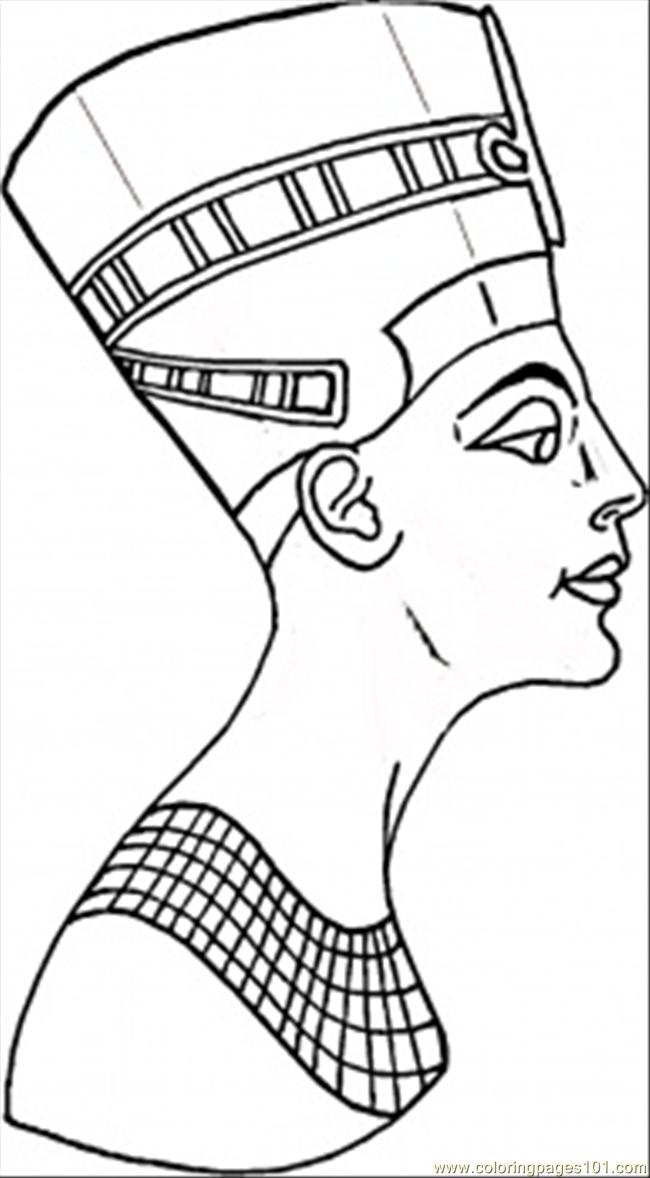 650x1178 Egyptian Coloring Pages Printable
