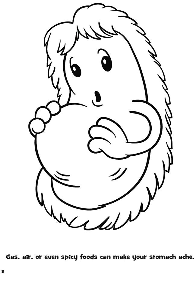 650x931 Germ Coloring Pages