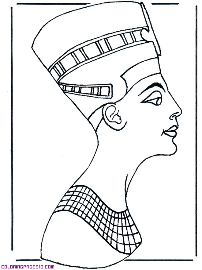660x880 Modern Easy Egyptian Coloring Pages Photos