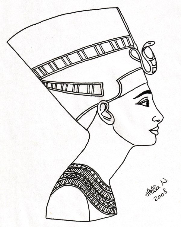 600x752 Nefertiti Beautyful Queen