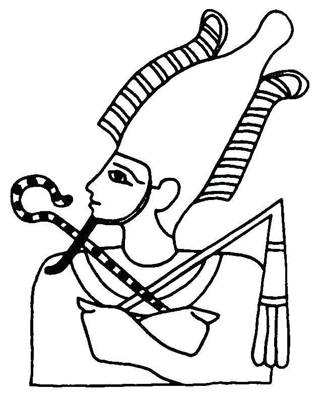 639x794 Ancient Egyptian Coloring Pages