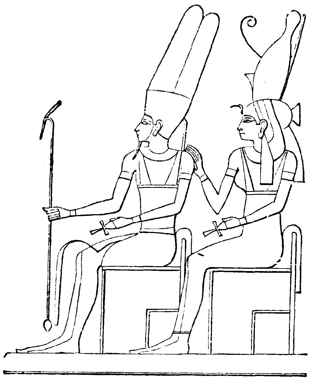 1097x1336 Best Egyptian Coloring Pages To Print Egypt Pr
