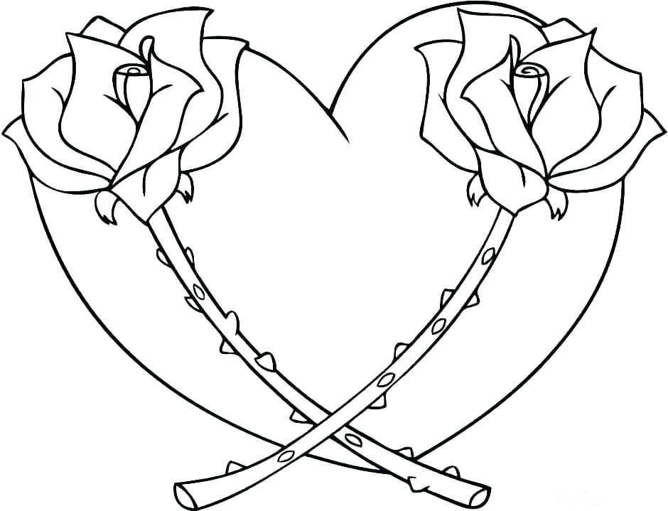 940x719 Nursery Rhymes Coloring Pages Queen Of Hearts Coloring Page