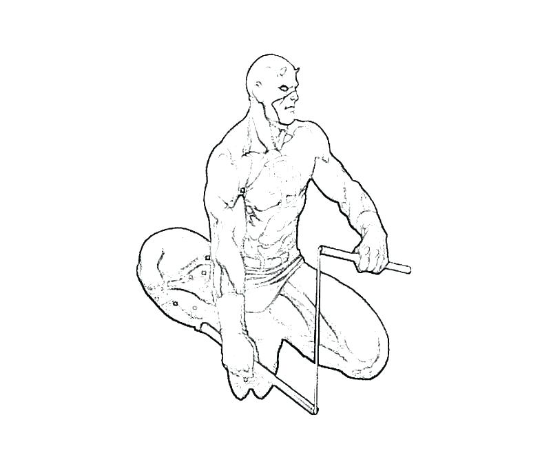 800x667 Daredevil Coloring Pages Free Daredevil Coloring Pages Daredevil