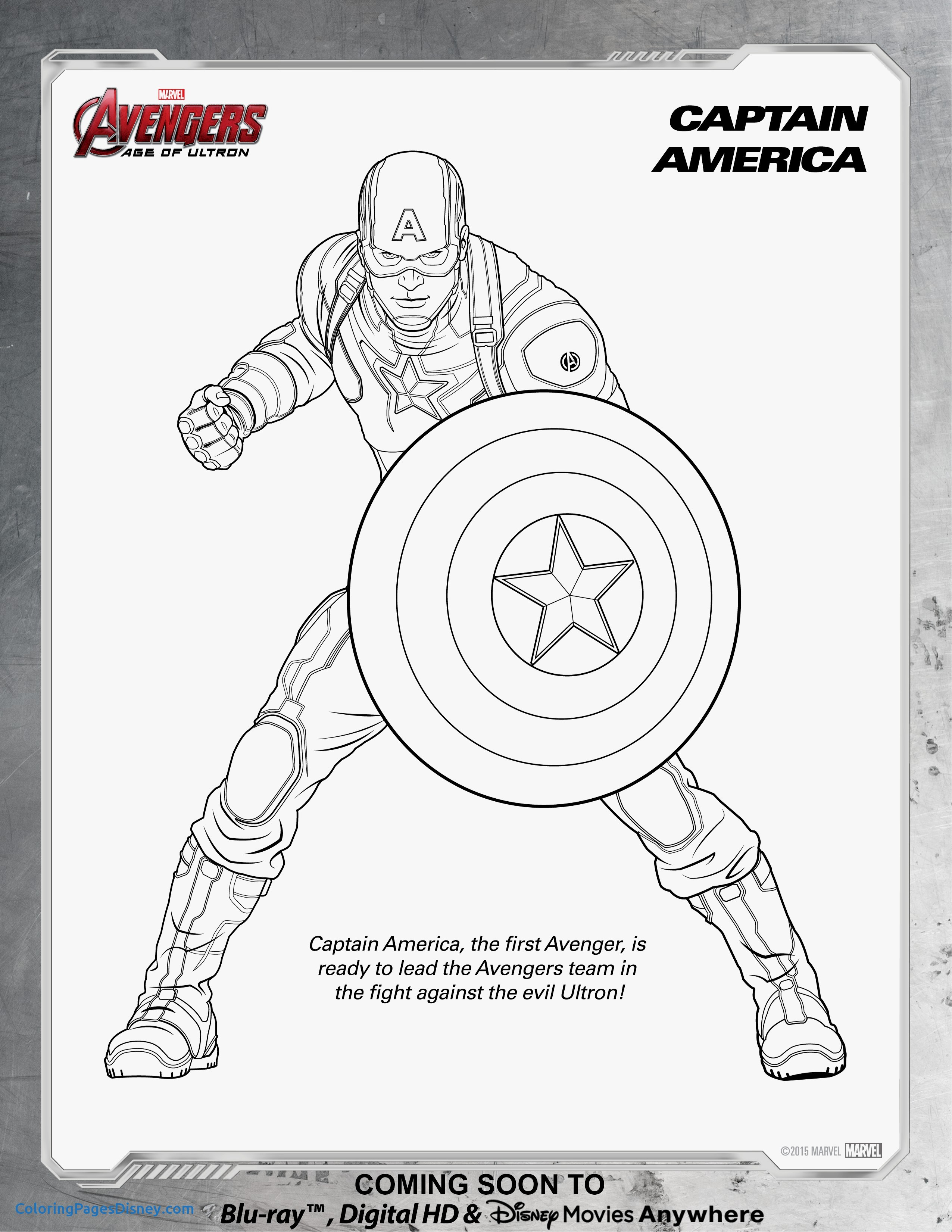 2551x3301 Quicksilver Coloring Pages New Avengers Captain America Coloring
