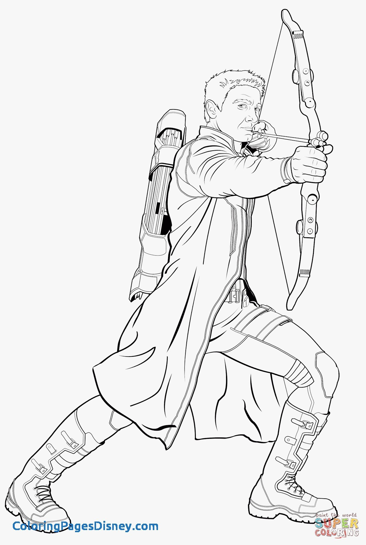 1200x1787 Quicksilver Coloring Pages Unique Avengers Hawkeye Coloring Page