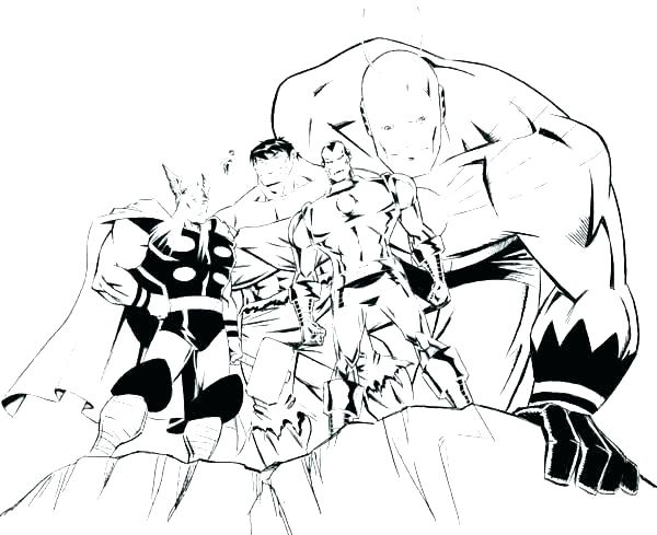 600x489 Avengers Color Pages Avengers Coloring Pages Scarlet Witch