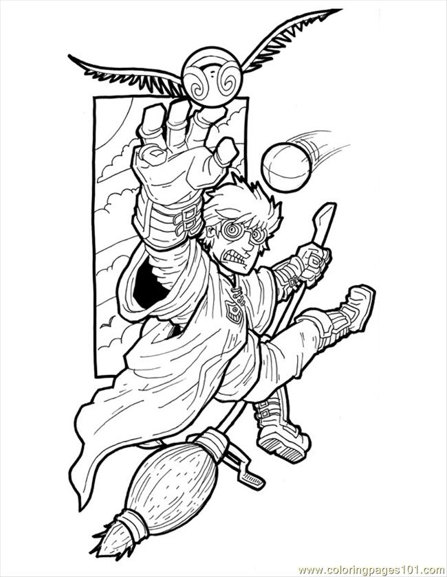 650x840 Harry Potter Small Coloring Page Free Harry Potter Coloring Harry